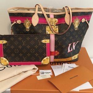 Louis Vuitton Limited Edition Trunk Summer